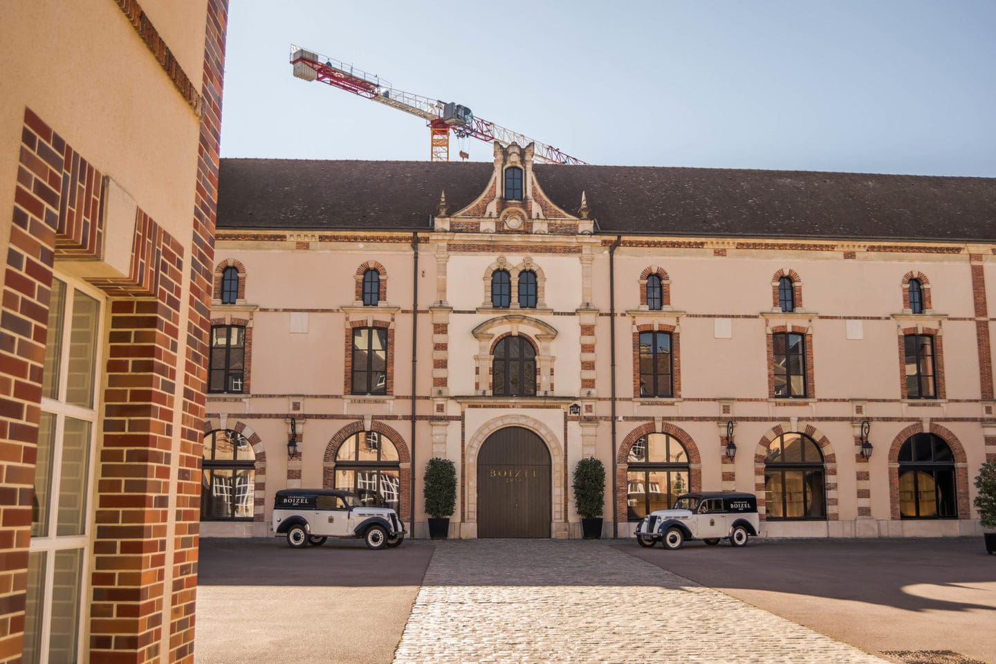 Visit the Maison Boizel One of the most beautiful cellars in Epernay