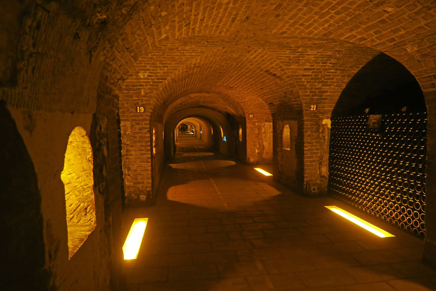 Visit the Maison Moêt et Chandon One of the most beautiful cellars in Epernay
