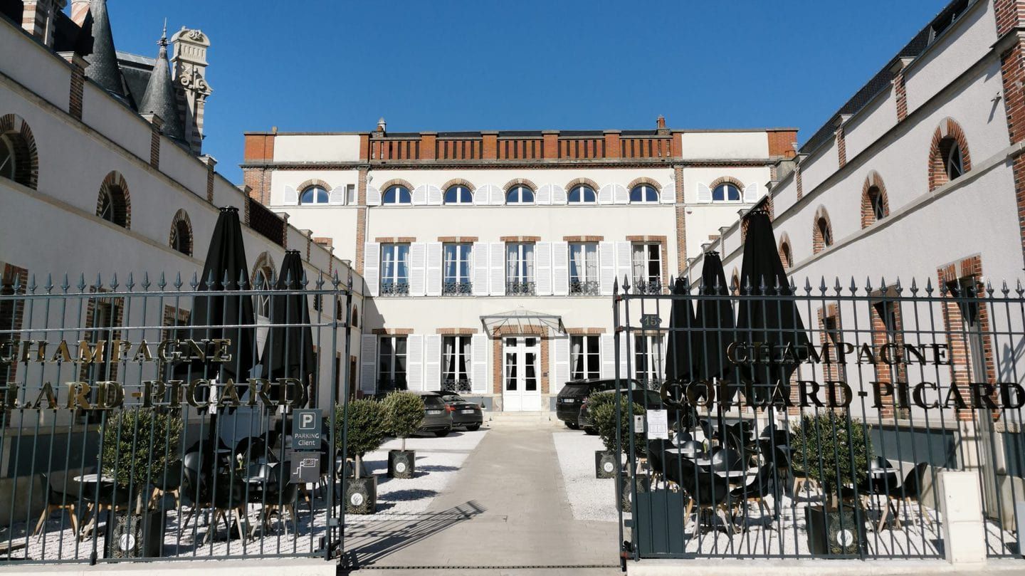 Champagne Collard Picard and his Outside Terrace Must visit in a Day in Epernay
